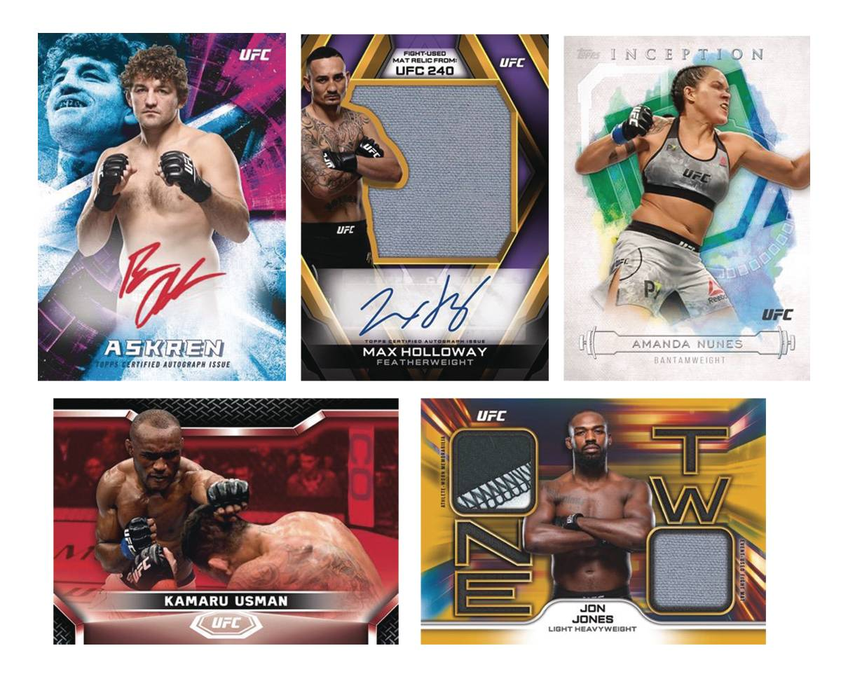 TOPPS 2020 UFC KNOCKOUT T/C BOX