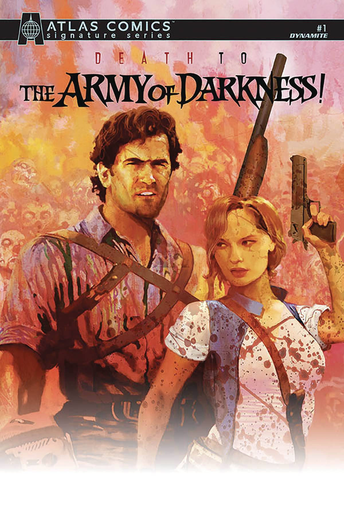 DEATH TO ARMY OF DARKNESS #1 PARROT SGN ATLAS ED