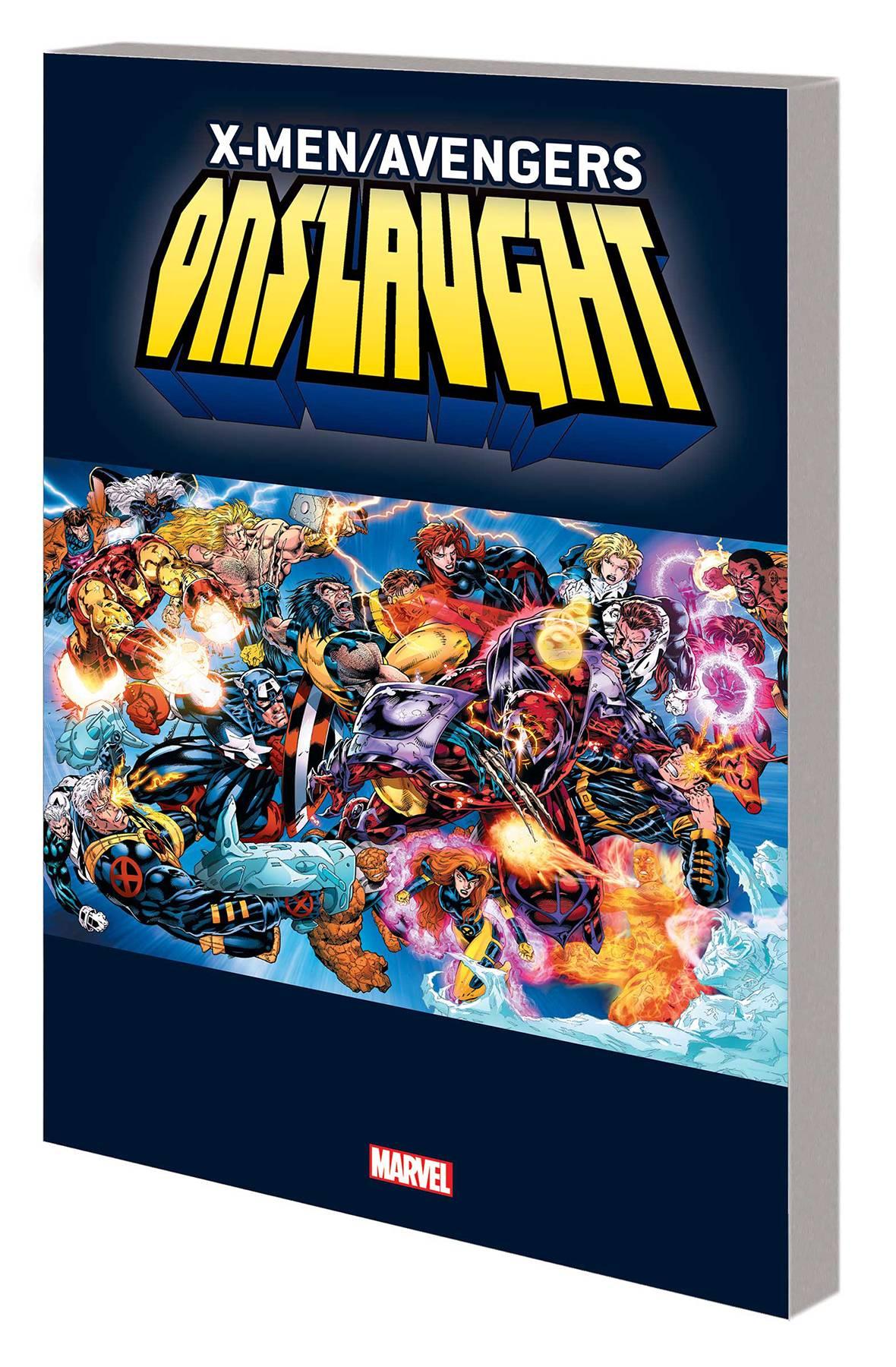 Dec191008 X Men Avengers Tp Vol 01 Onslaught Previews World