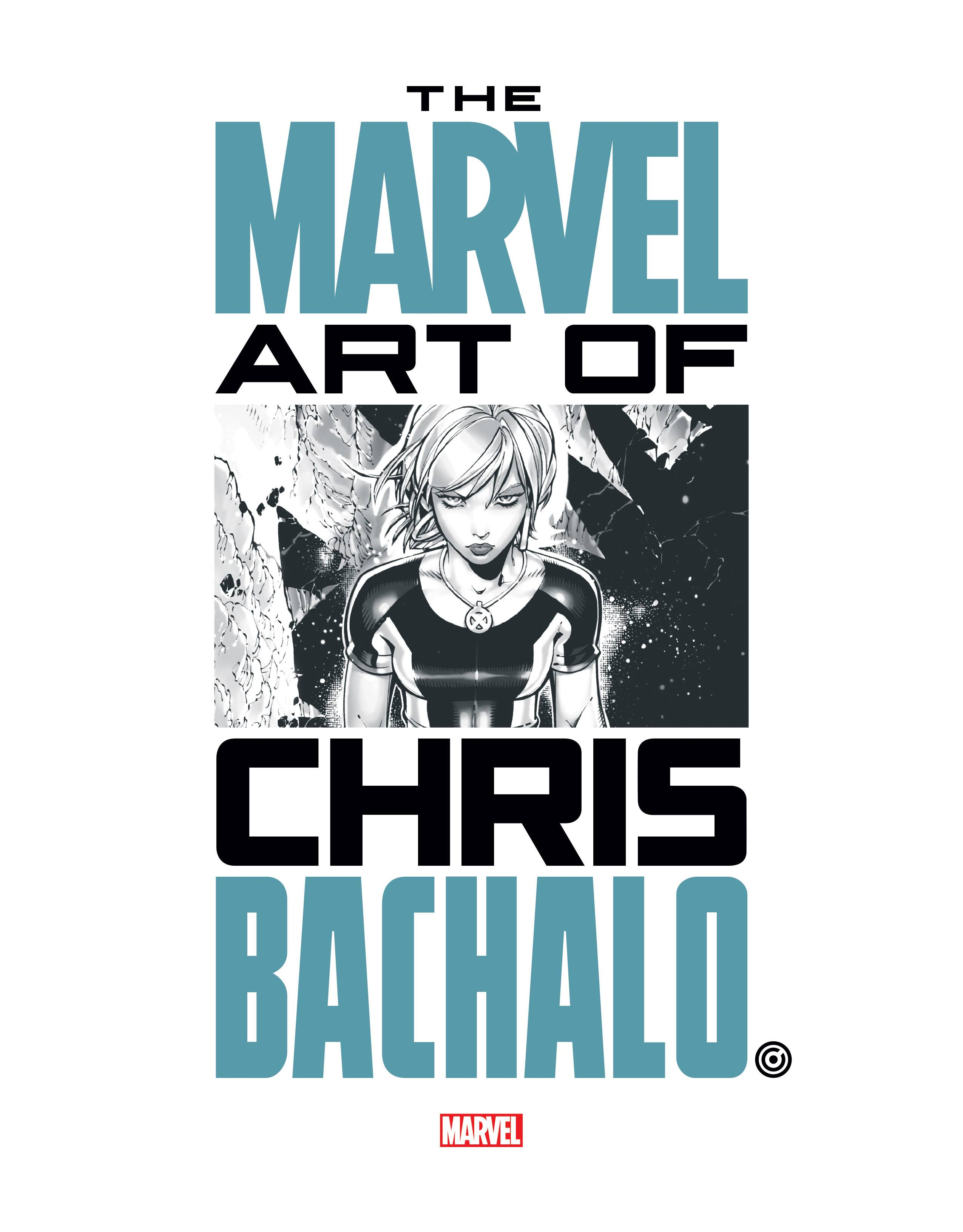 MARVEL MONOGRAPH TP ART OF CHRIS BACHALO