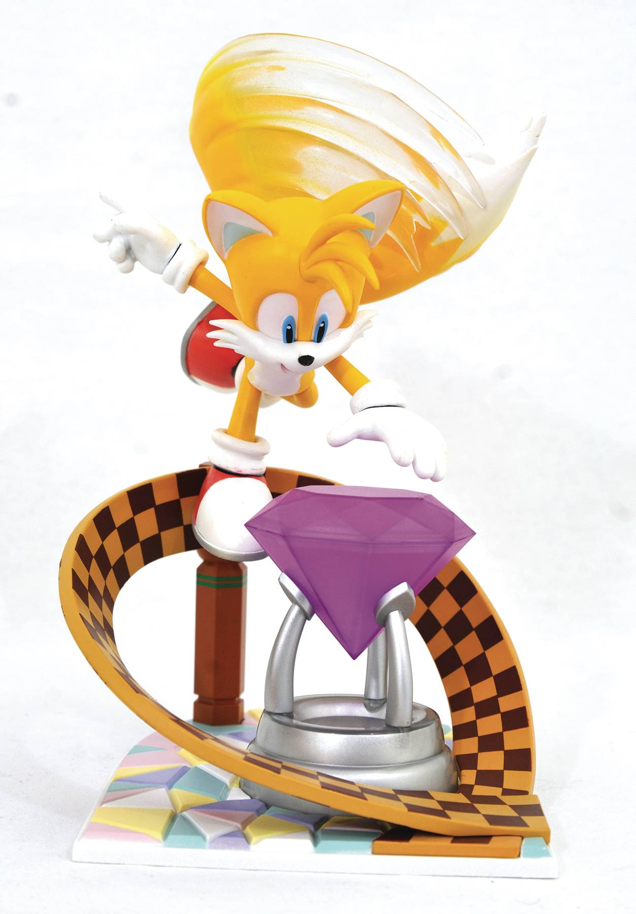 SONIC GALLERY TAILS PVC STATUE