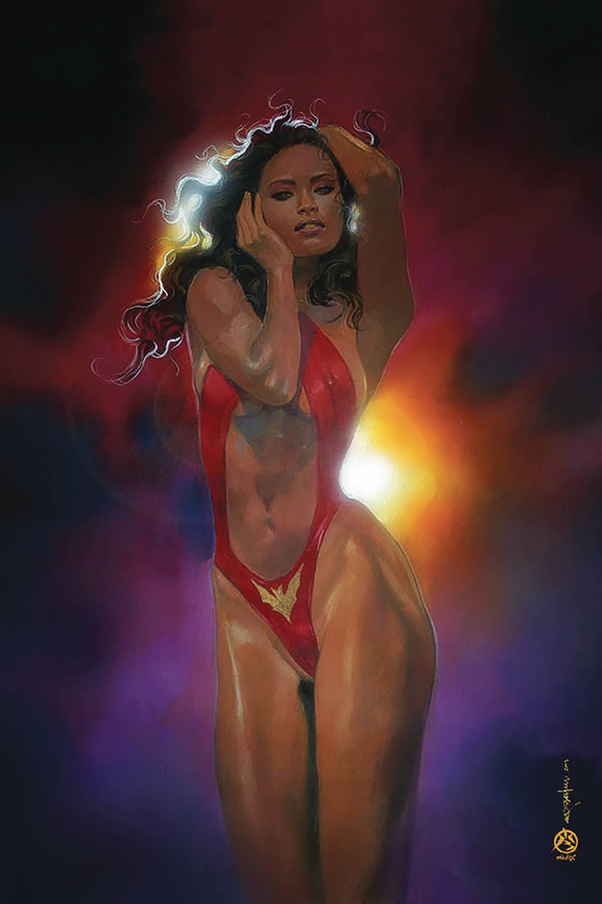 VAMPIRELLA #8 BEACHUM LTD VIRGIN CVR