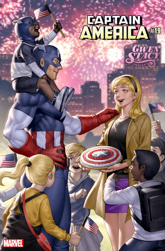 CAPTAIN AMERICA #19 YOON GWEN STACY VAR