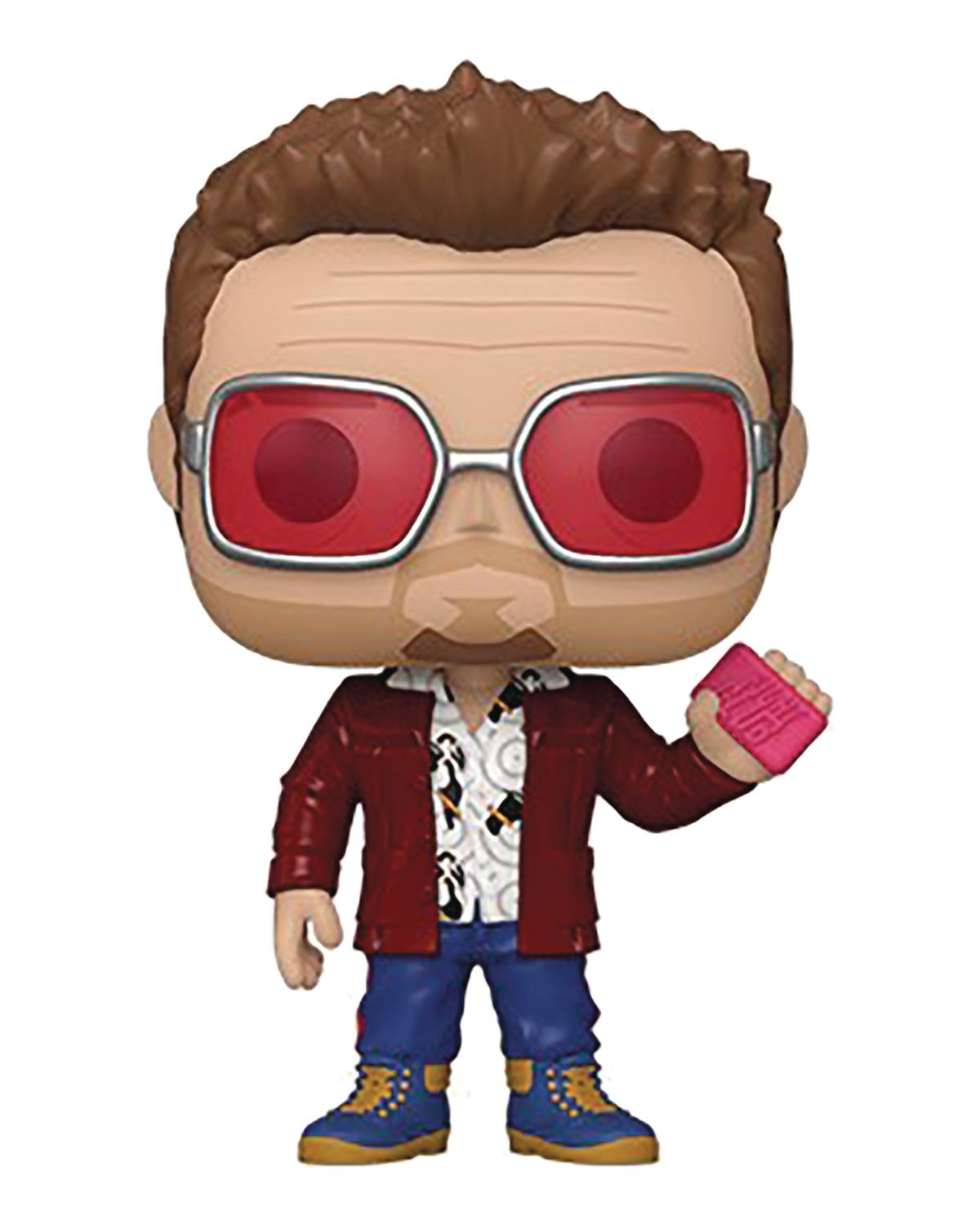 POP MOVIES FIGHT CLUB TYLER DURDEN W/BUDDY VIN FIG