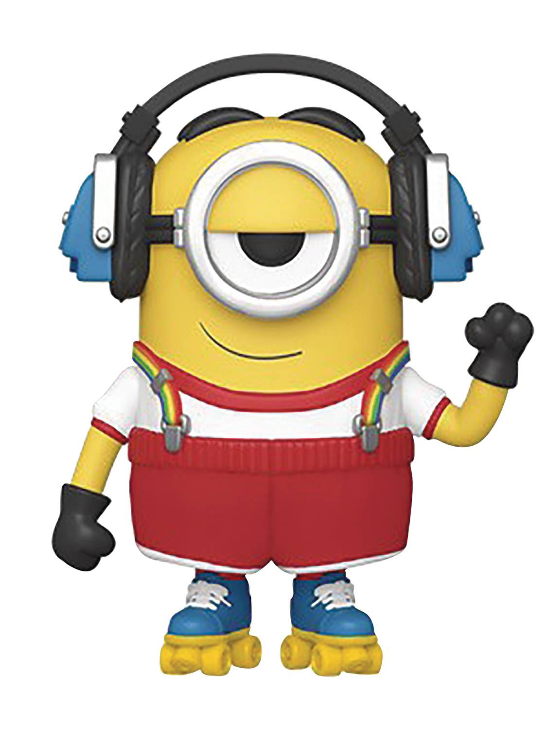 POP MOVIES MINIONS 2 ROLLER SKATING STUART VIN FIG