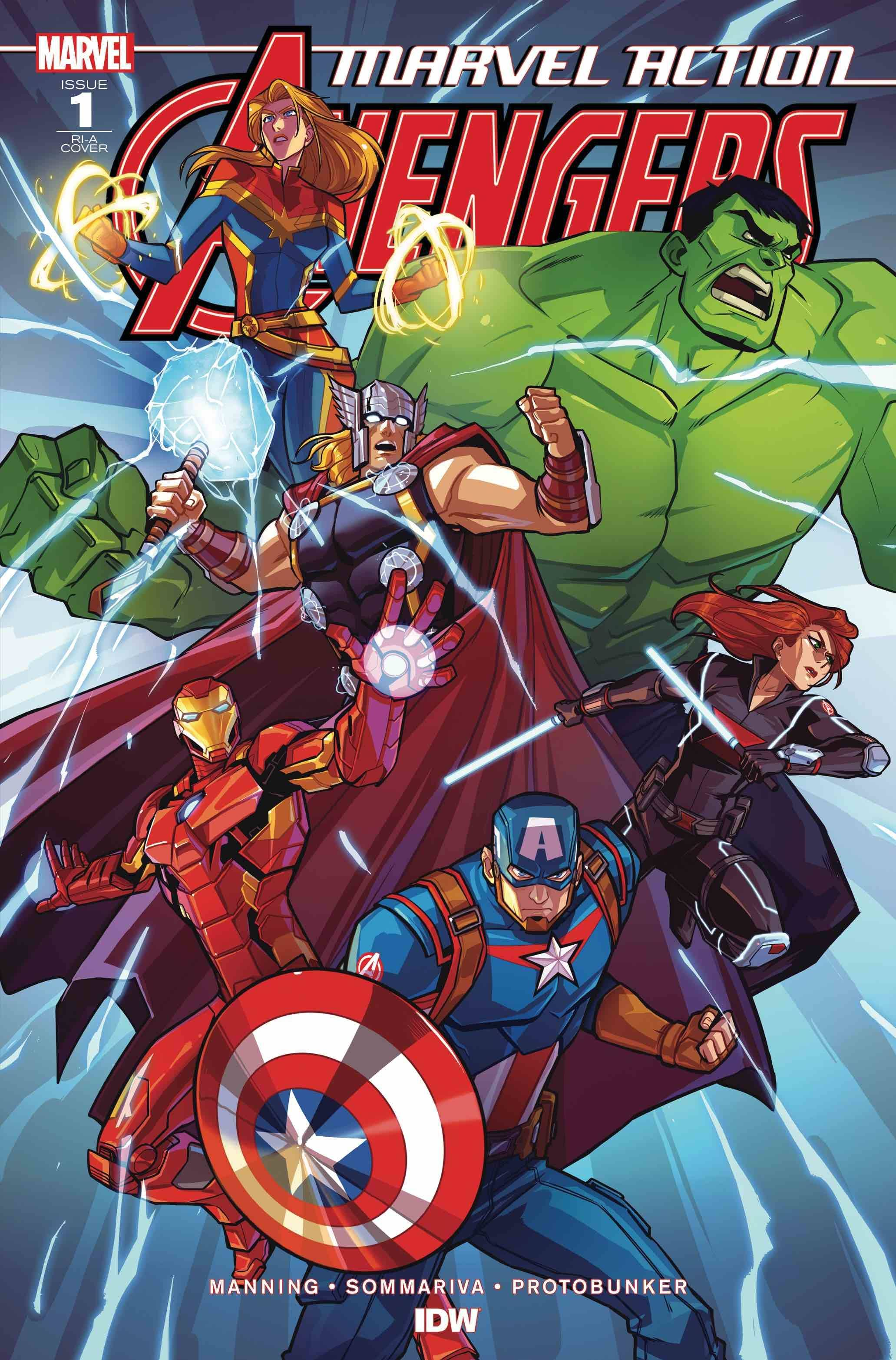MARVEL ACTION AVENGERS (2020) #1 10 COPY INCV EDGAR