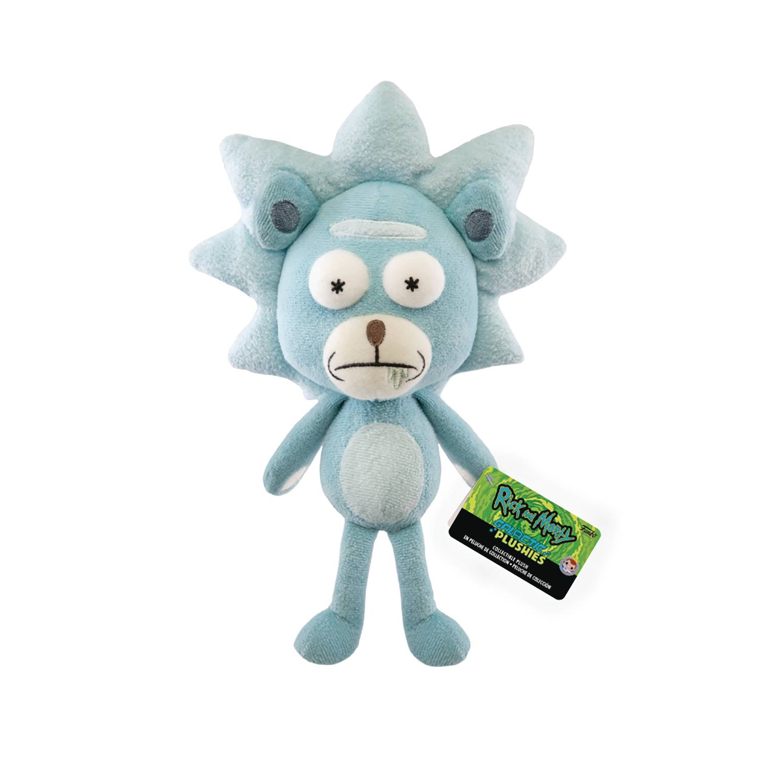 RICK & MORTY TEDDY RICK GALACTIC PLUSHIE