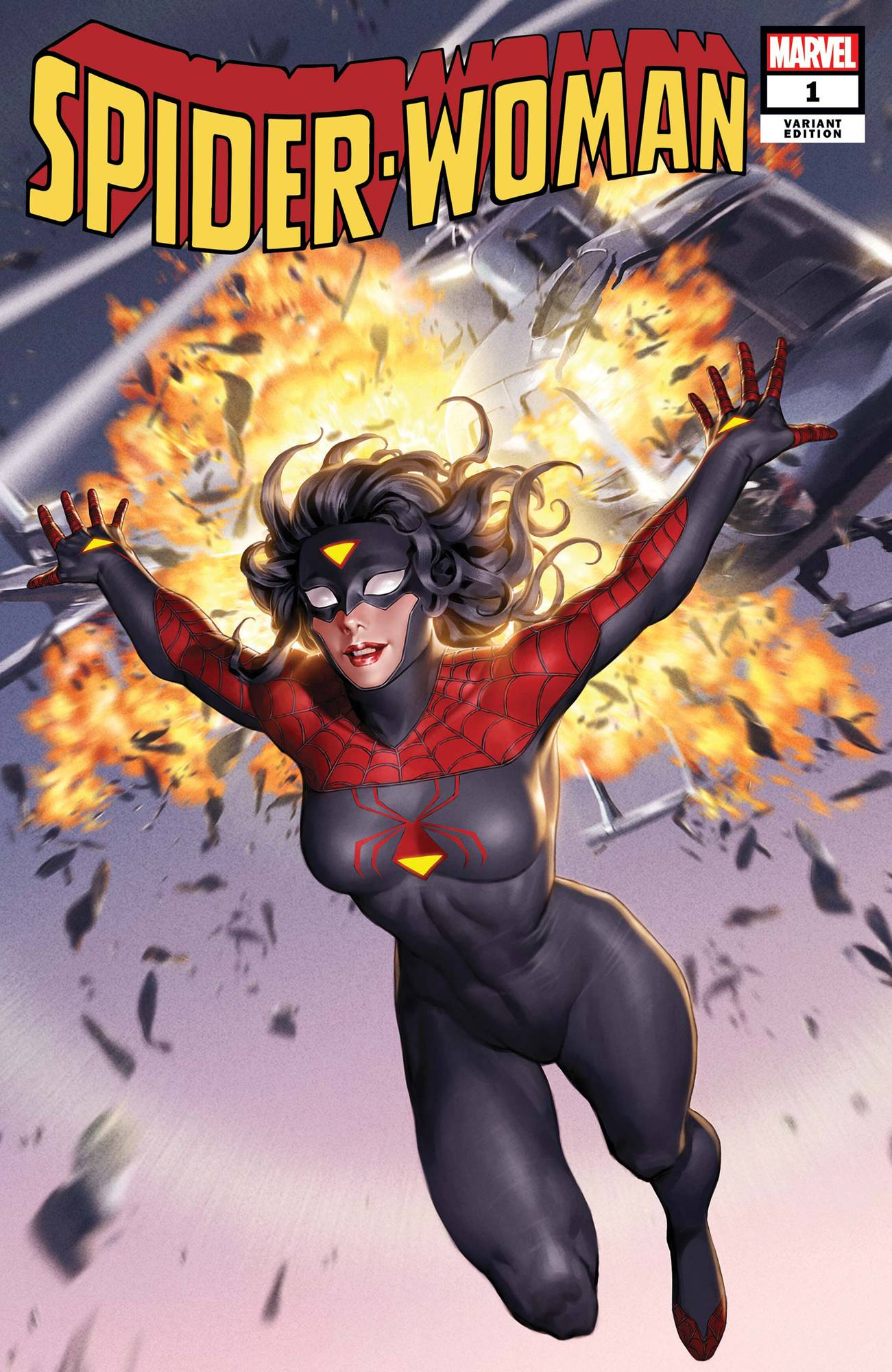 SPIDER-WOMAN #1 YOON NEW COSTUME CVR