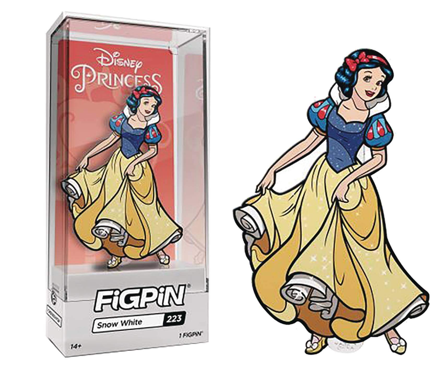 FIGPIN DISNEY SNOW WHITE PIN