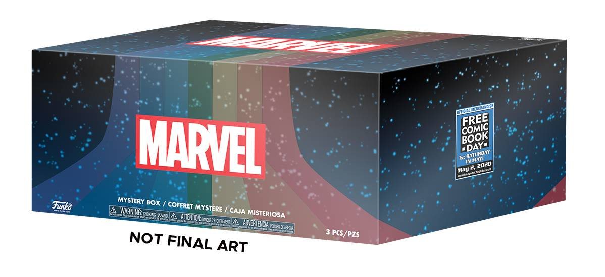 FCBD 2020 FUNKO PX MARVEL MYSTERY BOX A SIZE XL (OCT198053)