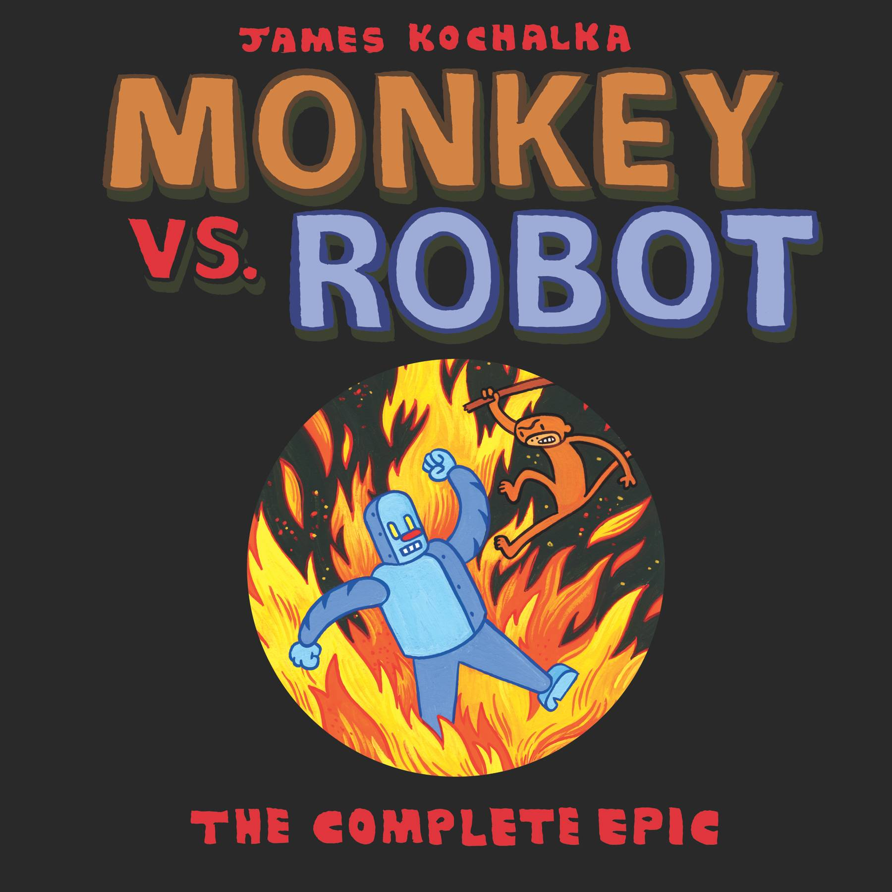 MONKEY VS ROBOT COMPLETE EPIC TP