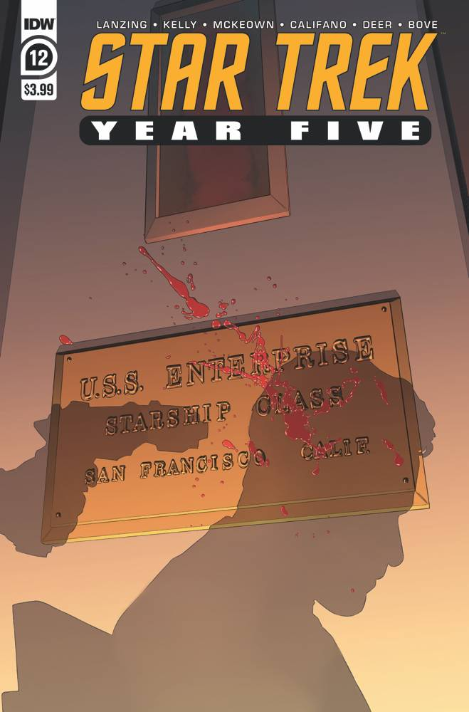 STAR TREK YEAR FIVE #12 CVR A THOMPSON