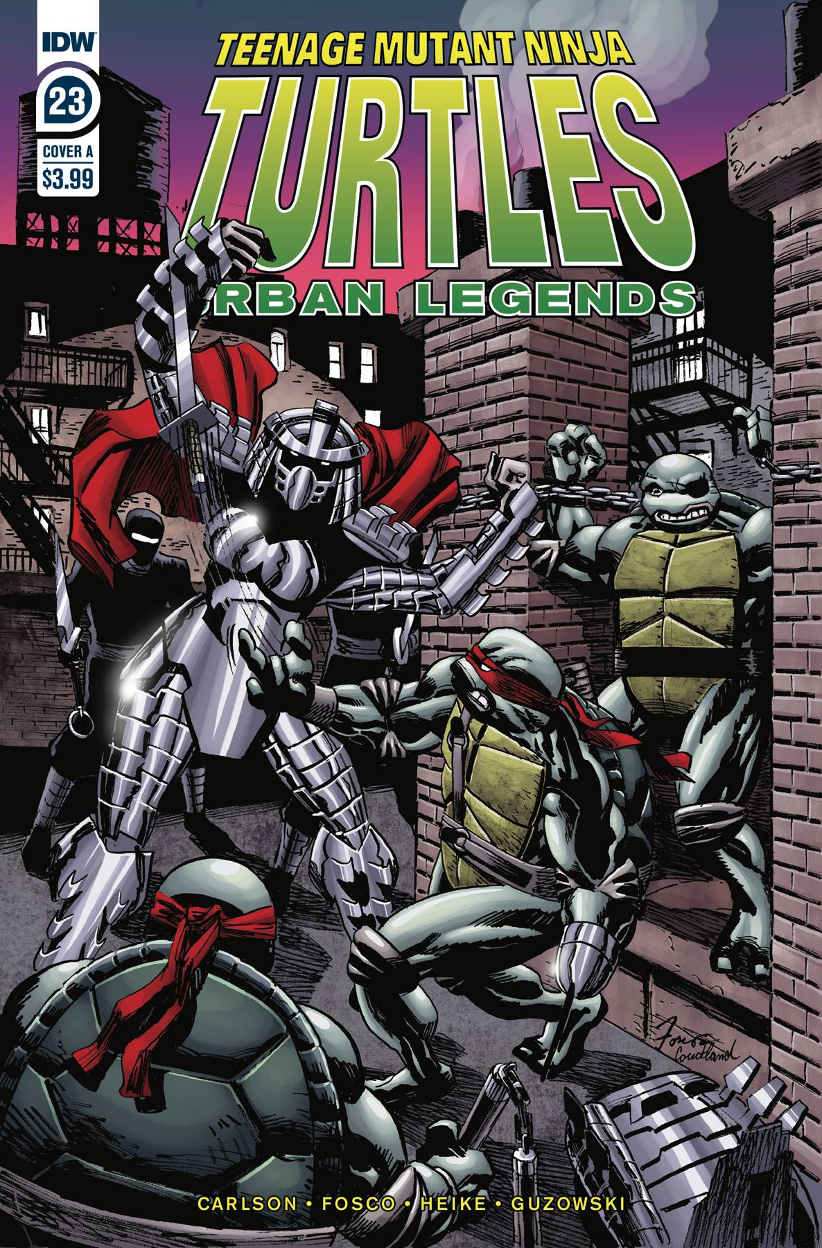TMNT URBAN LEGENDS #23 CVR A FOSCO