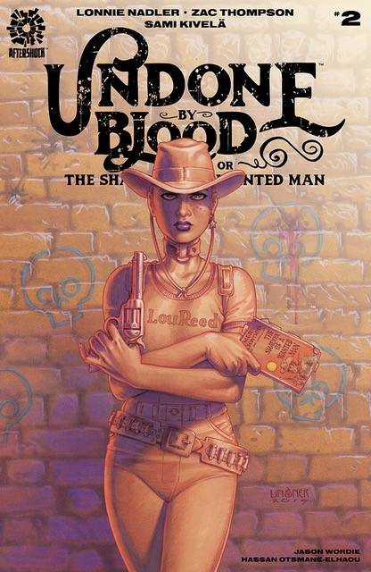 UNDONE BY BLOOD #2 10 COPY LINSNER INCV