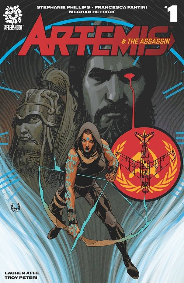 ARTEMIS & ASSASSIN #1 15 COPY JOHNSON INCV