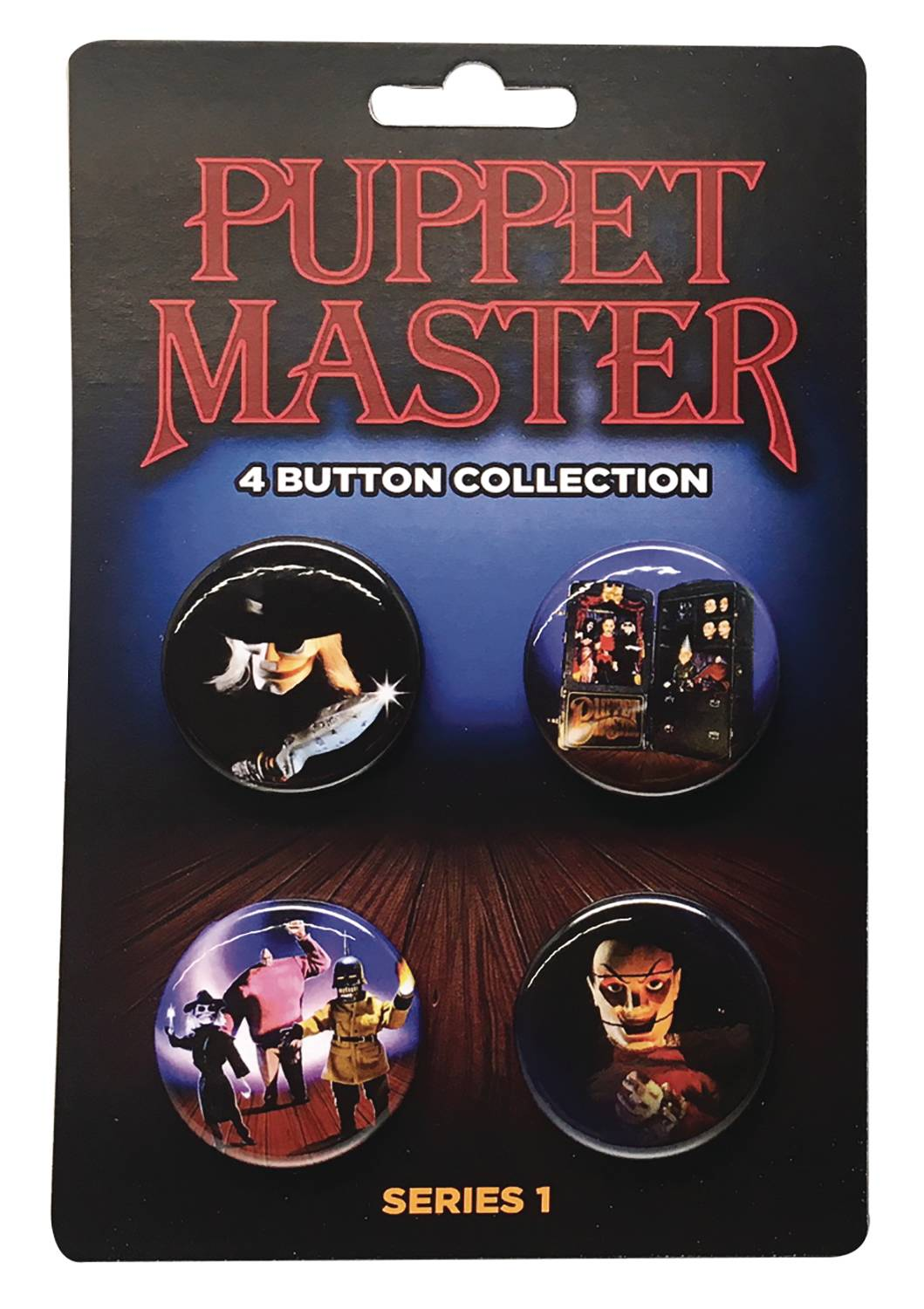 PUPPET MASTER BUTTON COLLECTION SER1 4PK