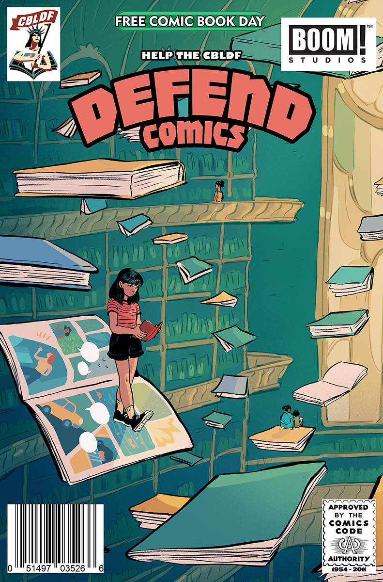 FCBD 2020 CBLDF & BOOM DEFEND COMICS