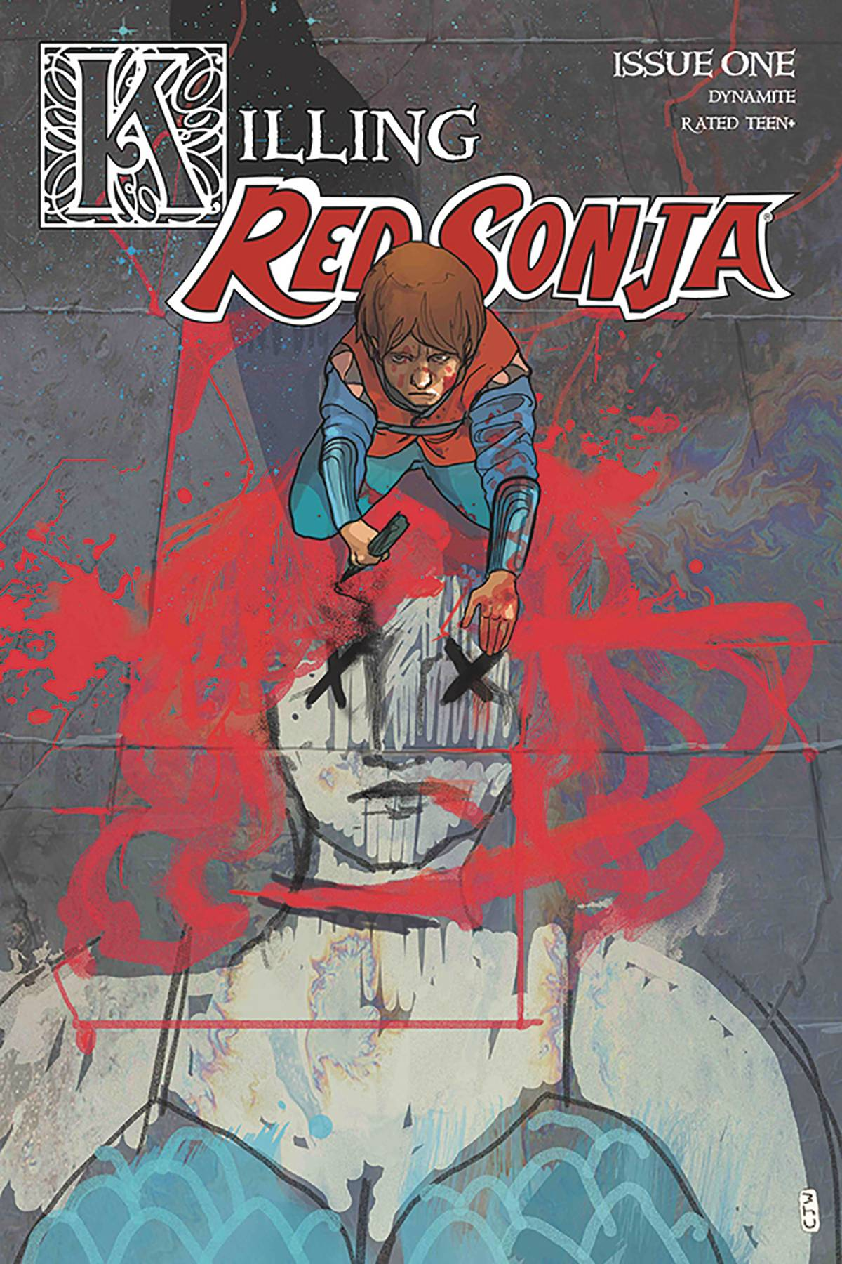 KILLING RED SONJA #1 CVR A WARD