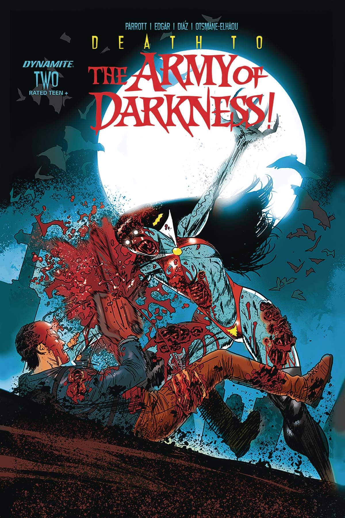 DEATH TO ARMY OF DARKNESS #2 CVR D GEDEON ZOMBIE