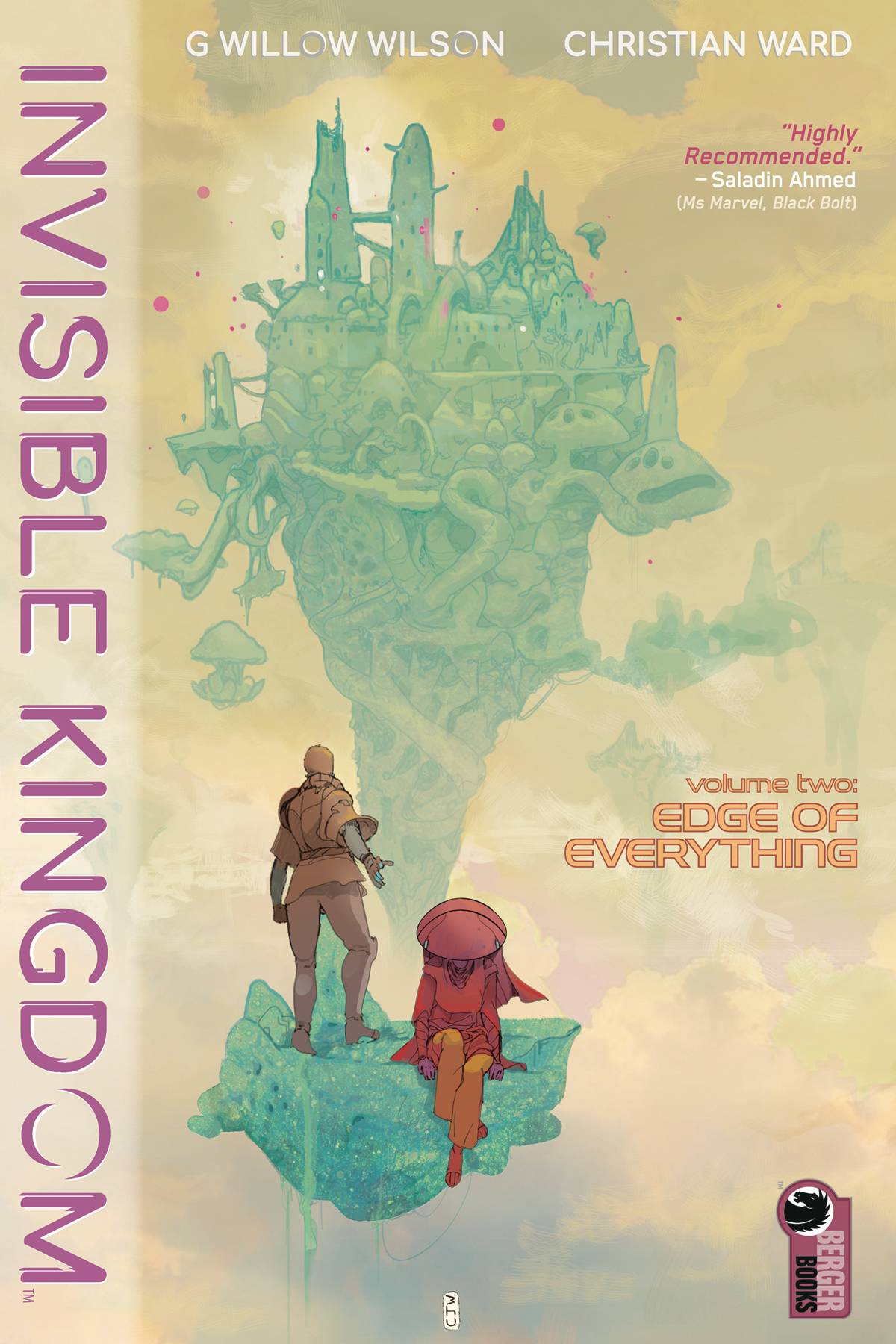 INVISIBLE KINGDOM TP VOL 02 EDGE OF EVERYTHING (JAN200331) (