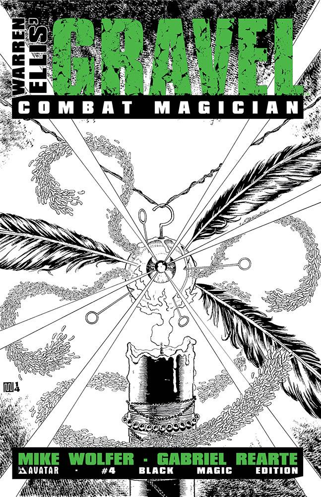 GRAVEL COMBAT MAGICIAN #4 BLACK MAGIC VAR (MR)