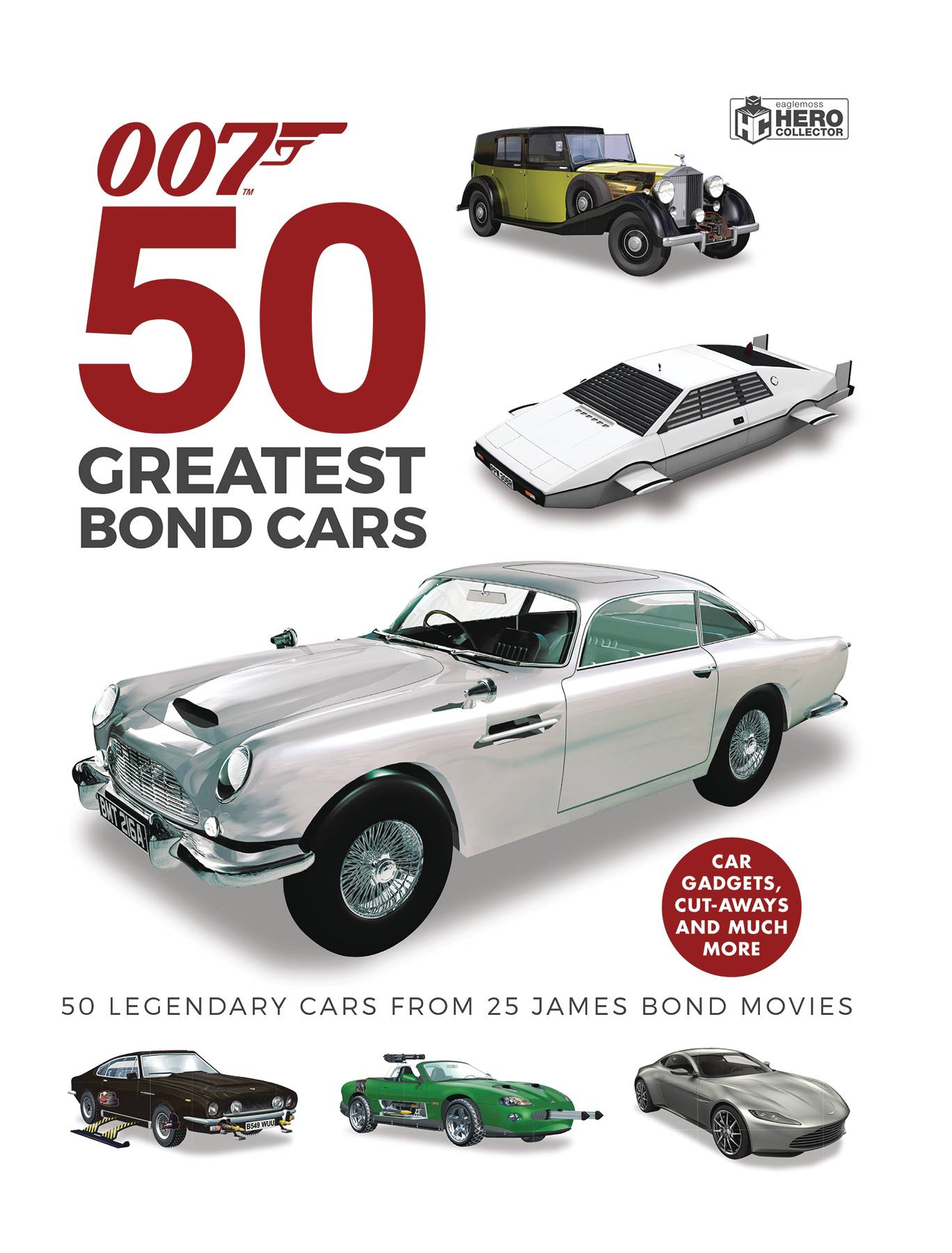 JAMES BOND 50 GREATEST BOND CARS HC (RES)