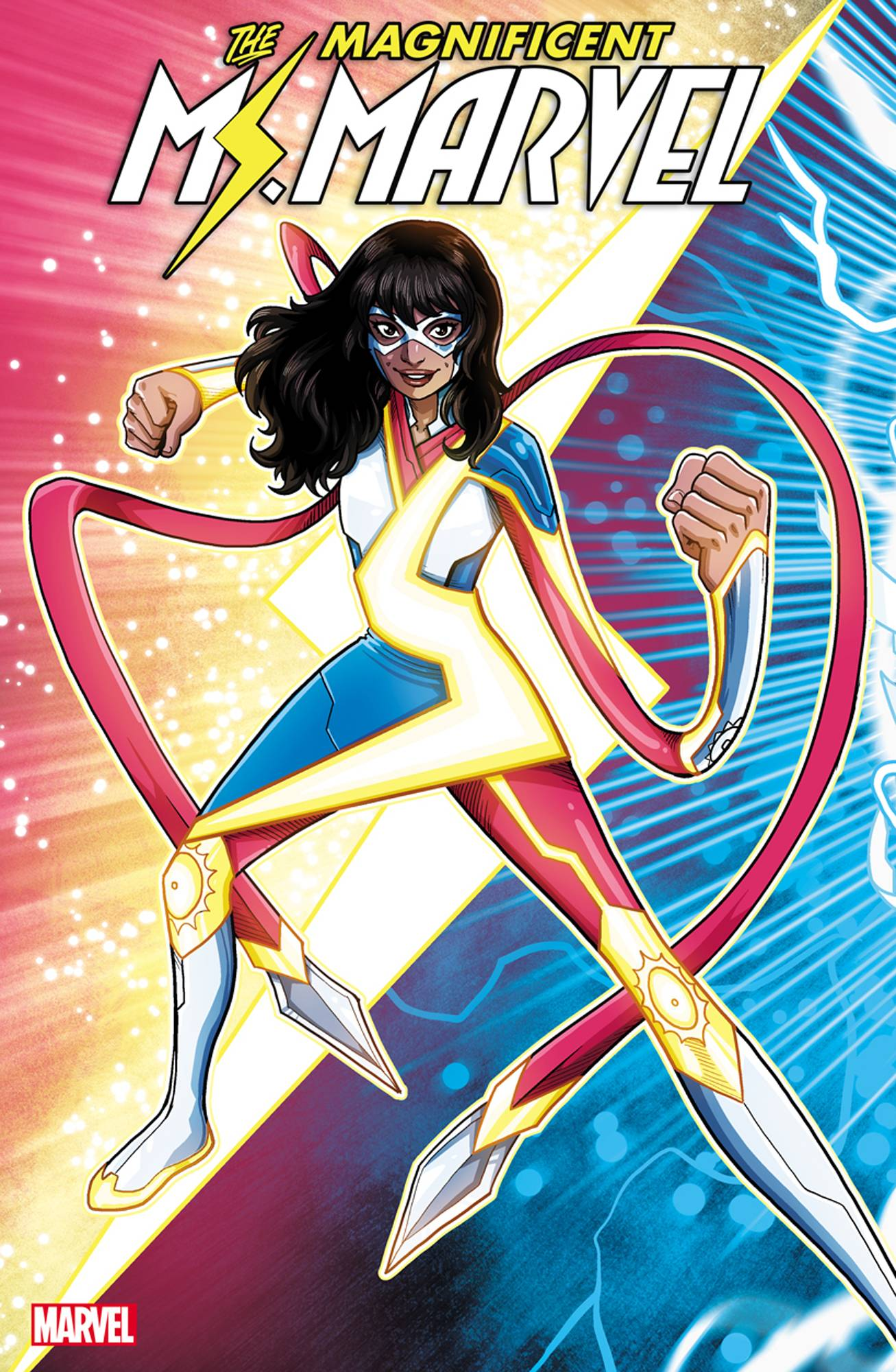 MAGNIFICENT MS MARVEL #7 2ND PTG VECCHIO VAR