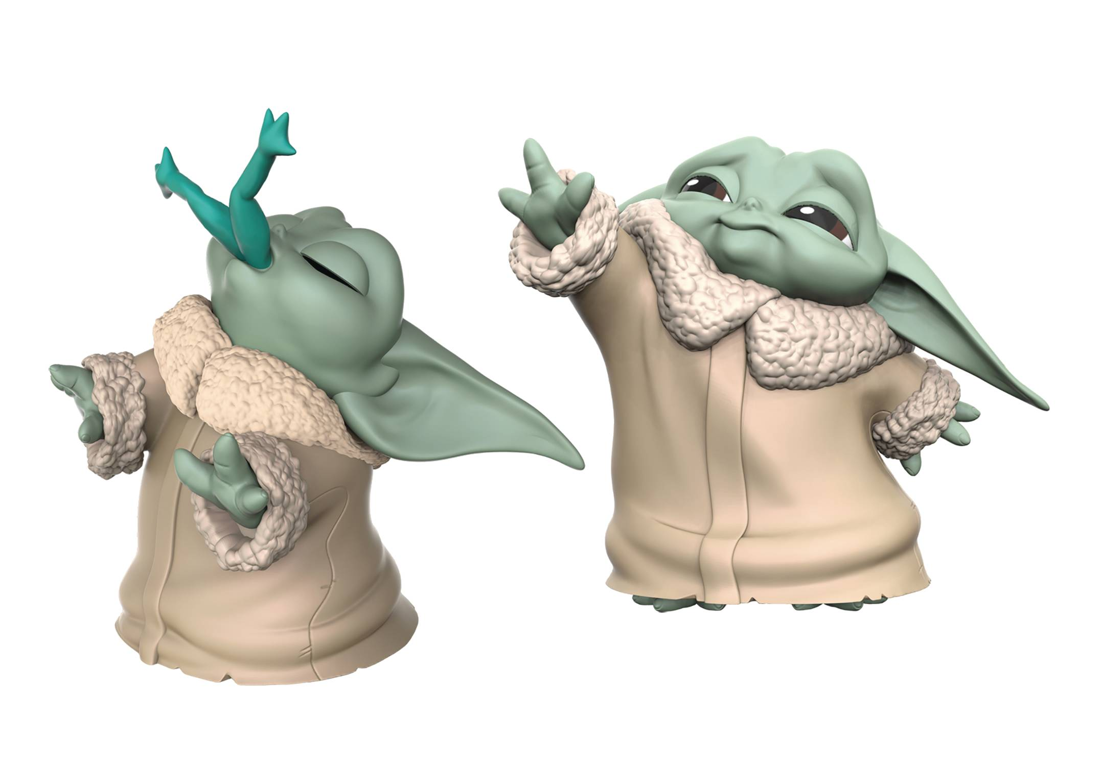 SW MAN BABY BOUNTIES FROG/FORCE FIG 2PK CS