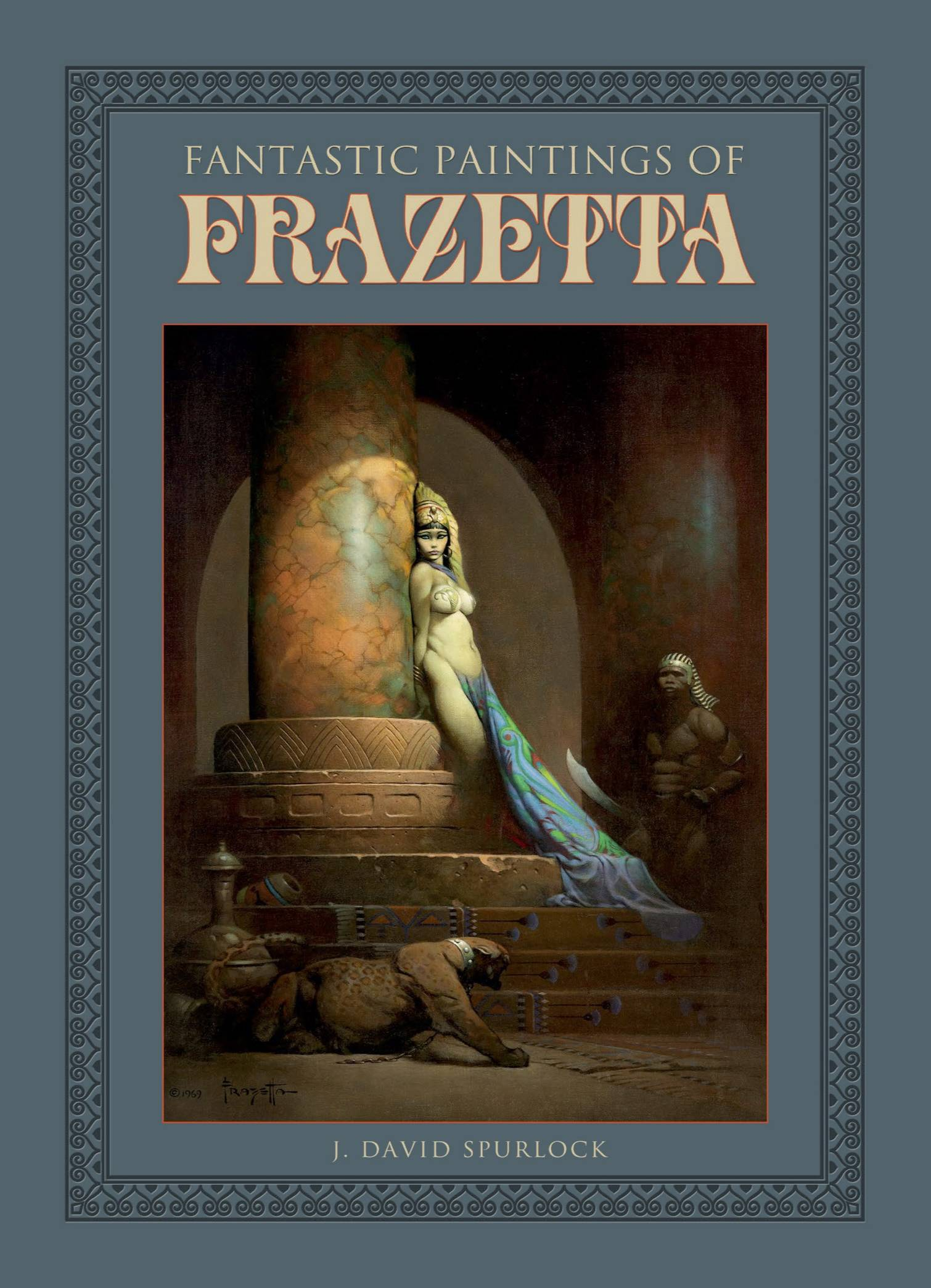 FANTASTIC PAINTINGS OF FRAZETTA HC 2ND PTG (O/A)