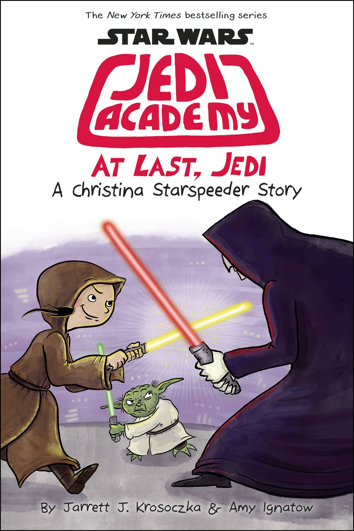 STAR WARS JEDI ACADEMY YR HC VOL 09 AT LAST JEDI