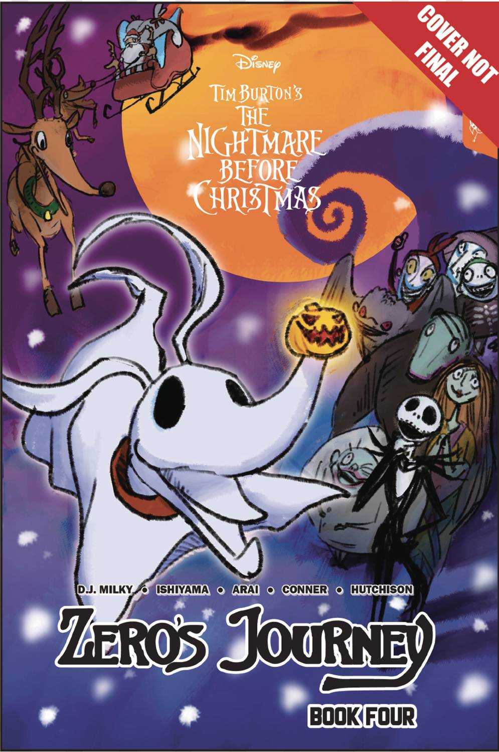 DISNEY MANGA NIGHTMARE CHRISTMAS ZEROS JOURNEY TP VOL 04