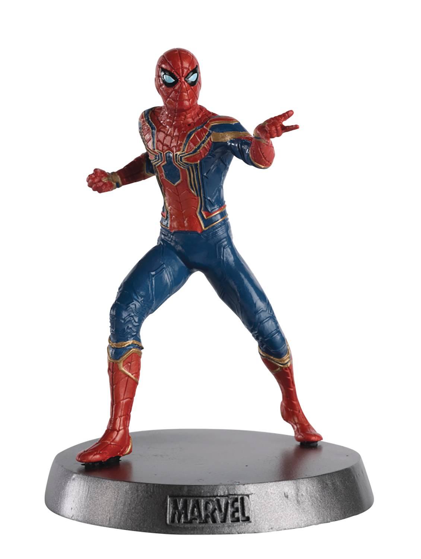 MARVEL MOVIE HERO COLLECTOR HEAVYWEIGHTS #3 #3 SPIDER-MAN IR