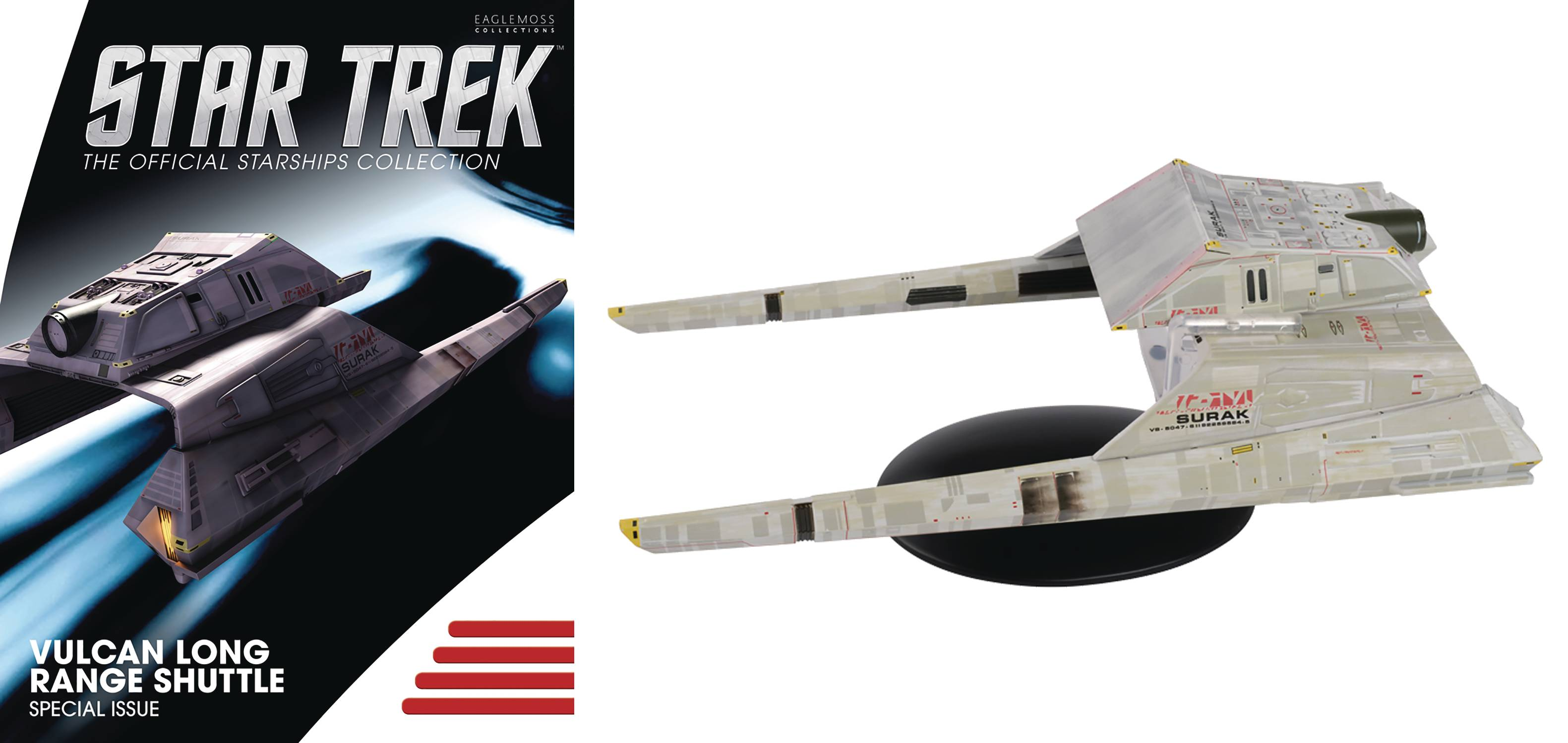 STAR TREK STARSHIPS SPECIAL #21 LONG RANGE VULCAN SHUTTLE (C