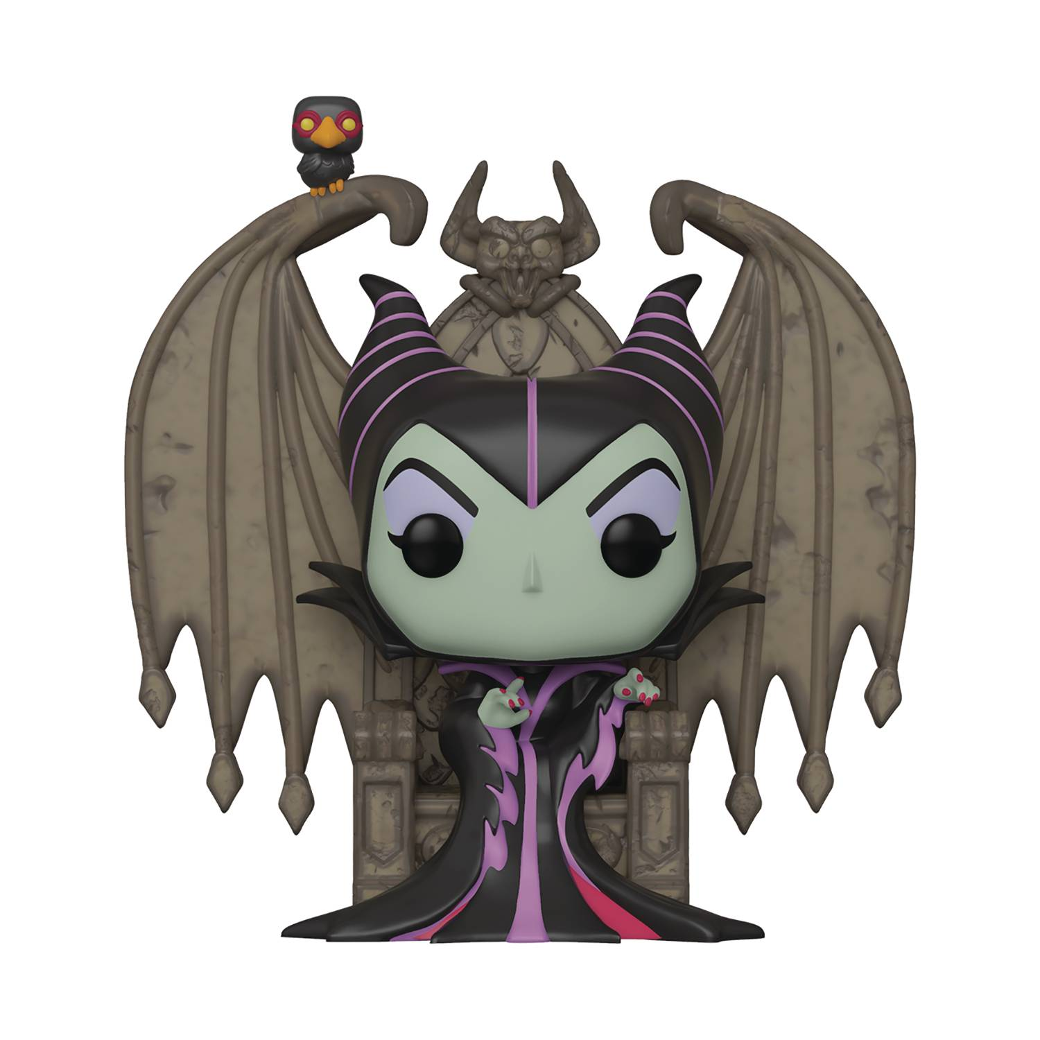 POP DELUXE VILLAINS MALEFICENT ON THRONE VINYL FIGURE