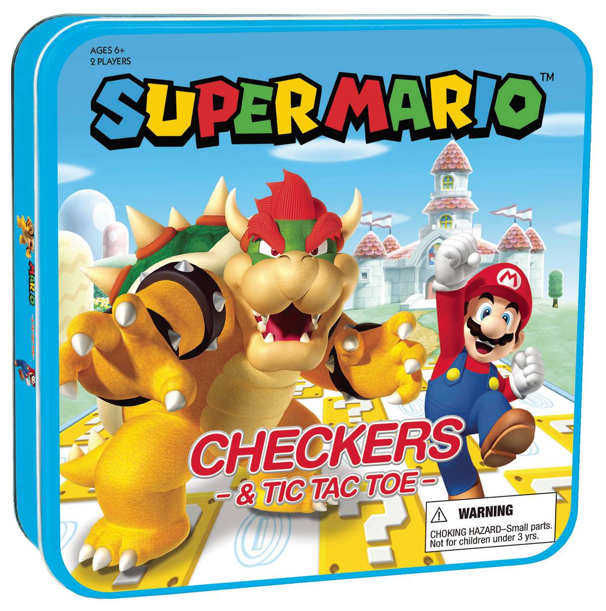 SUPER MARIO CHECKERS & TIC TAC TOE