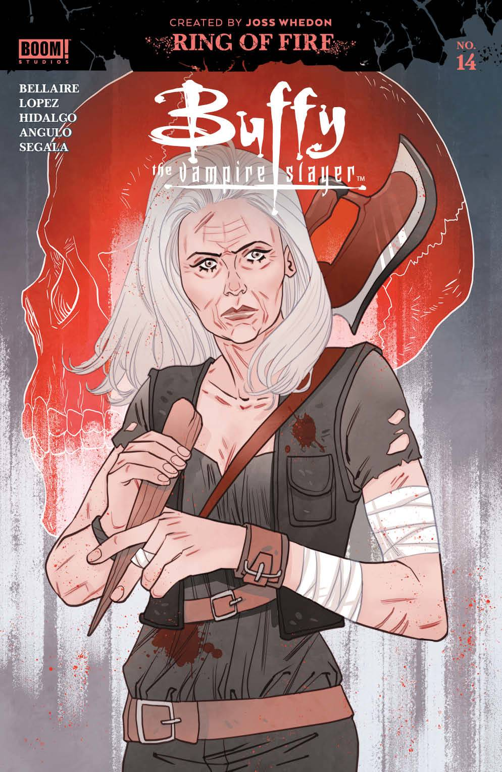BUFFY THE VAMPIRE SLAYER #14 CVR B SAUVAGE SPOT VAR