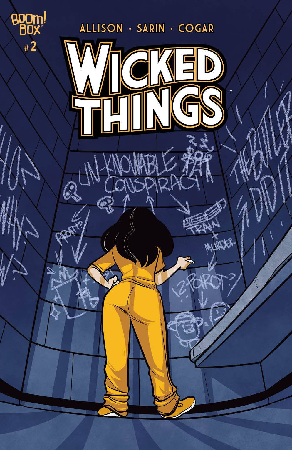 Wicked Things #2 cover