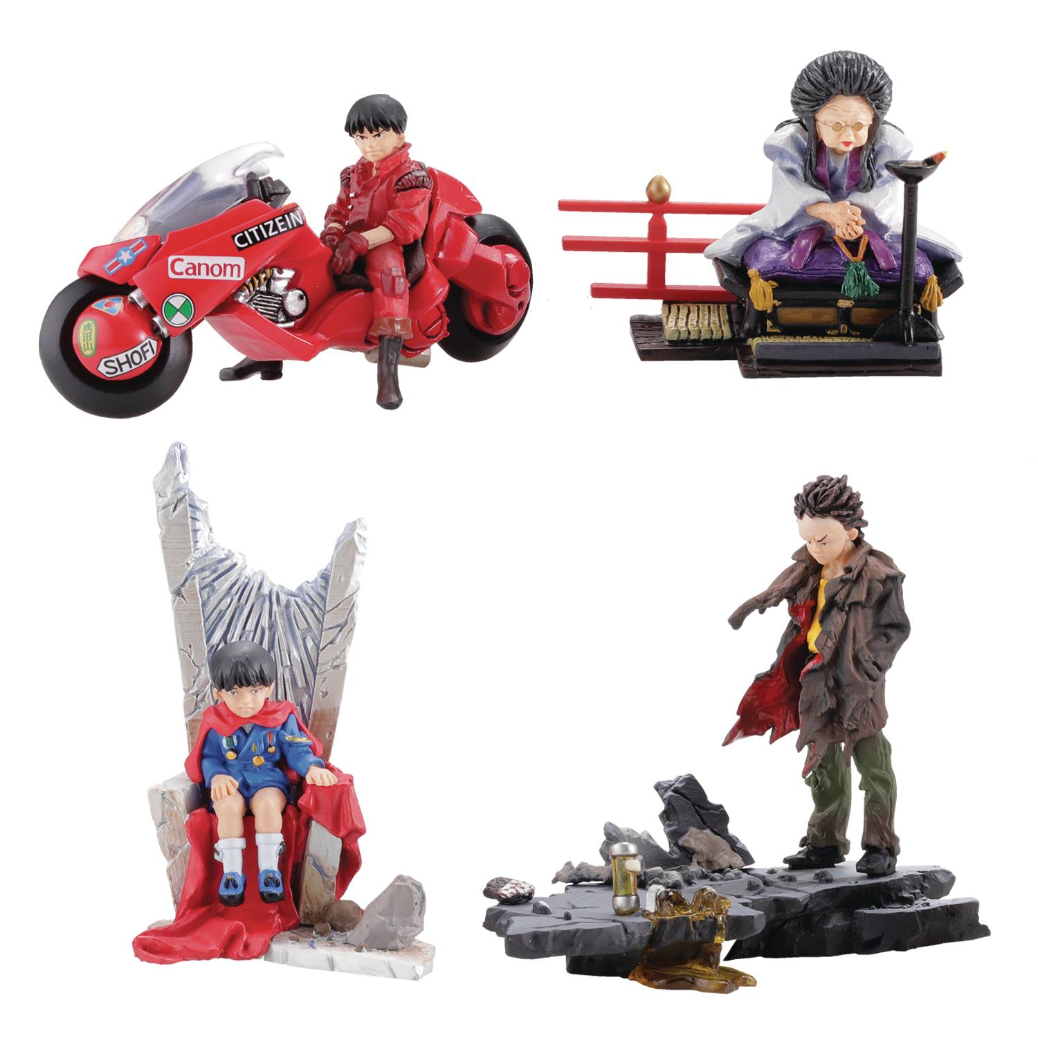 AKIRA MINIQ TRADGING FIG PART 3 6PC BMB DIS