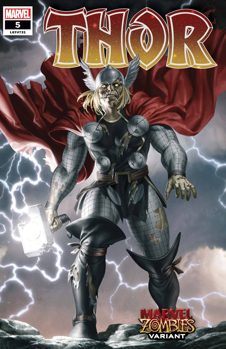 THOR #5 YOON MARVEL ZOMBIES VAR
