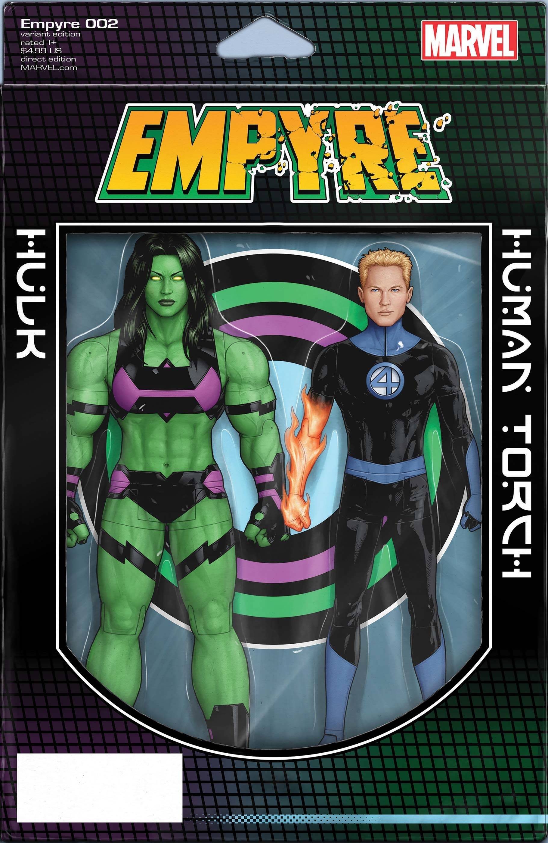 EMPYRE #2 (OF 6) CHRISTOPHER 2-PACK ACTION FIGURE VAR