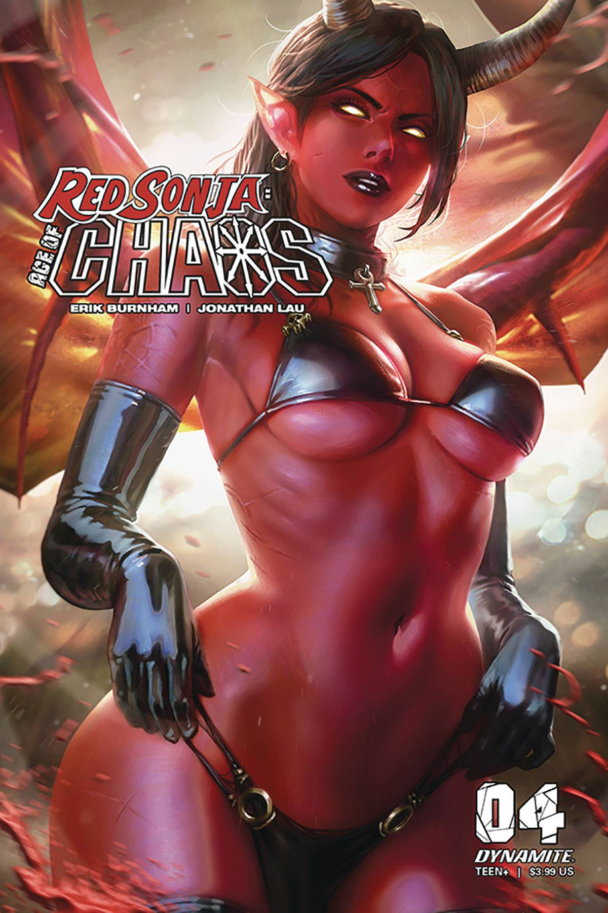 RED SONJA AGE OF CHAOS #4 CVR D CHEW