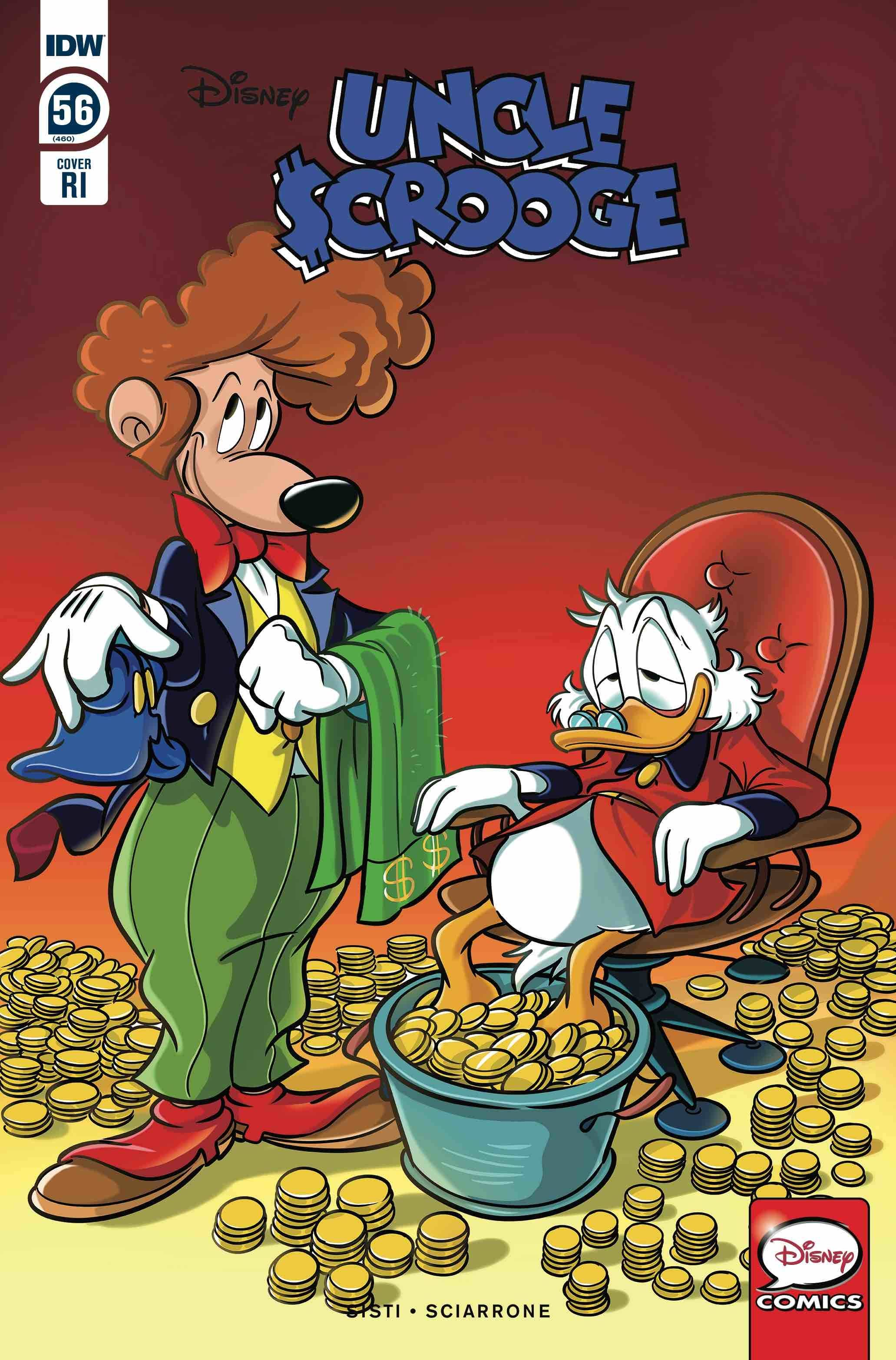 Uncle Scrooge #43A Mazzarello Variant NM 2019 Stock Image
