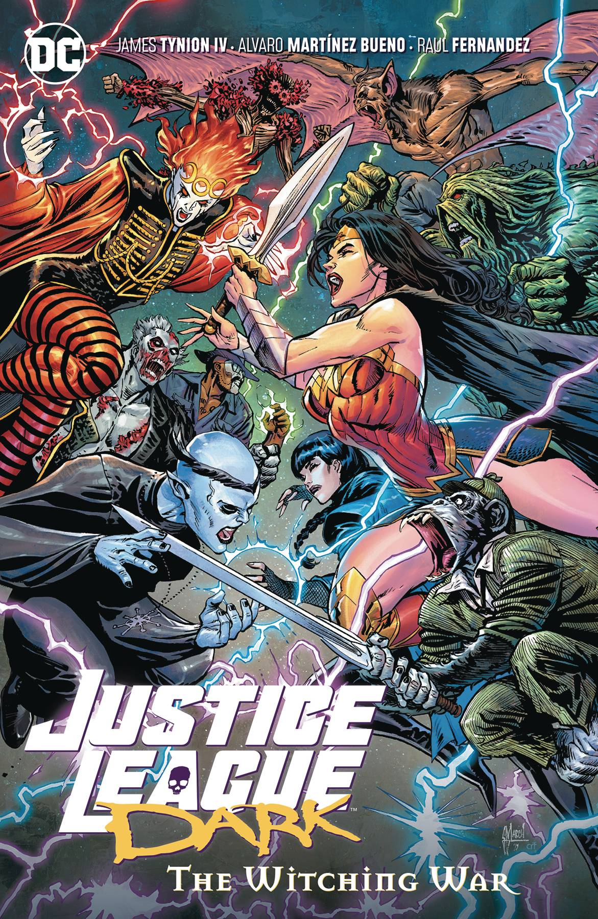 JUSTICE LEAGUE DARK TP VOL 03 THE WITCHING WAR