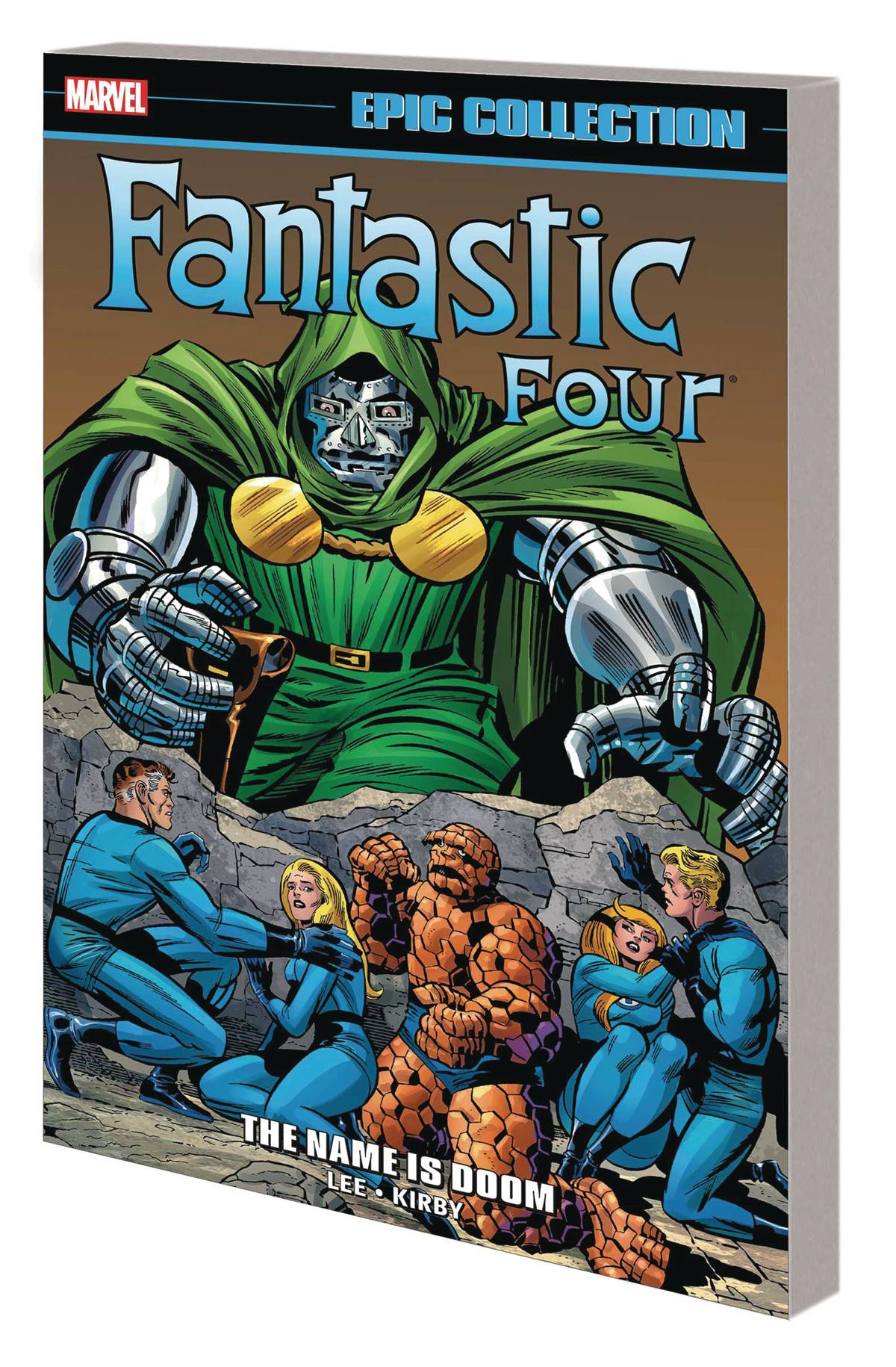 Feb201069 Fantastic Four Epic Collection Tp Name Is Doom Previews World