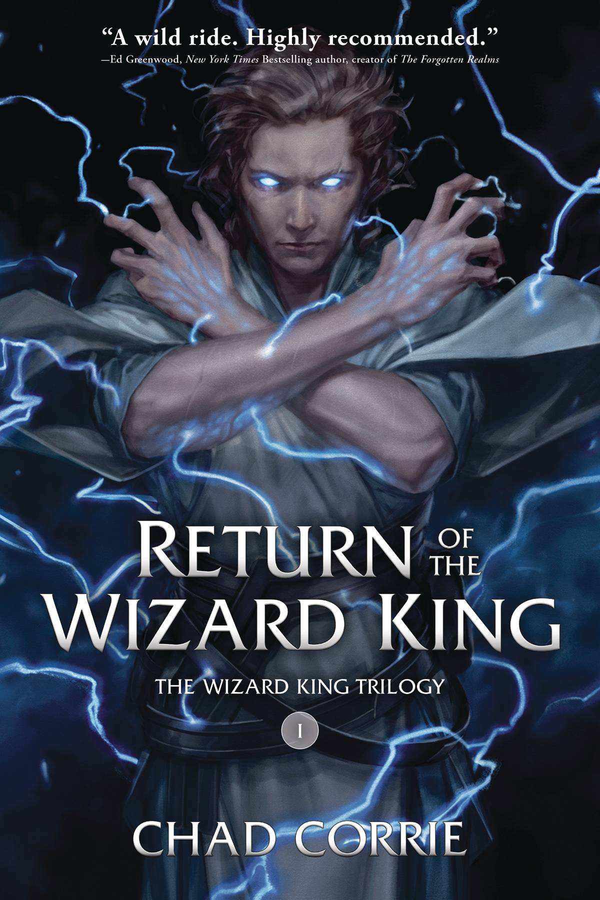 RETURN OF THE WIZARD KING TP VOL 01 PROSE NOVEL (O/A)