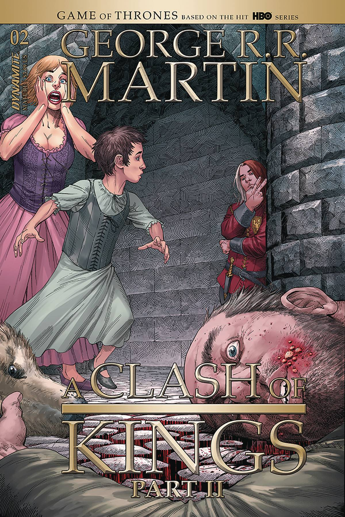 GEORGE RR MARTIN A CLASH OF KINGS #4 CVR A MILLER (MR)