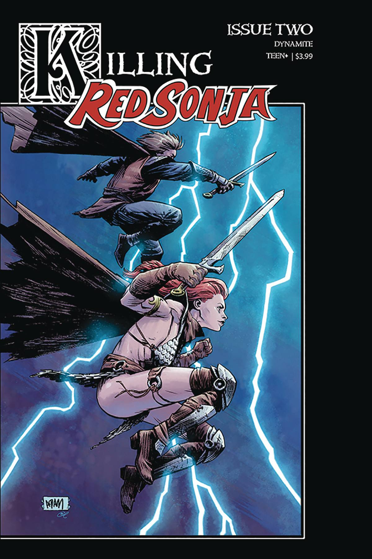 KILLING RED SONJA #2 CVR B GORHAM HOMAGE