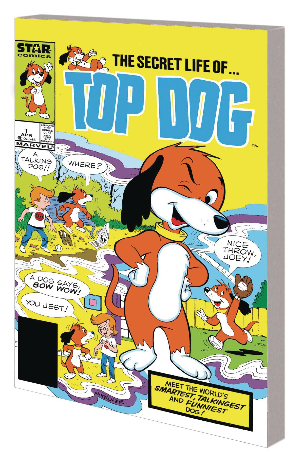 STAR COMICS TOP DOG COMPLETE COLLECTION TP