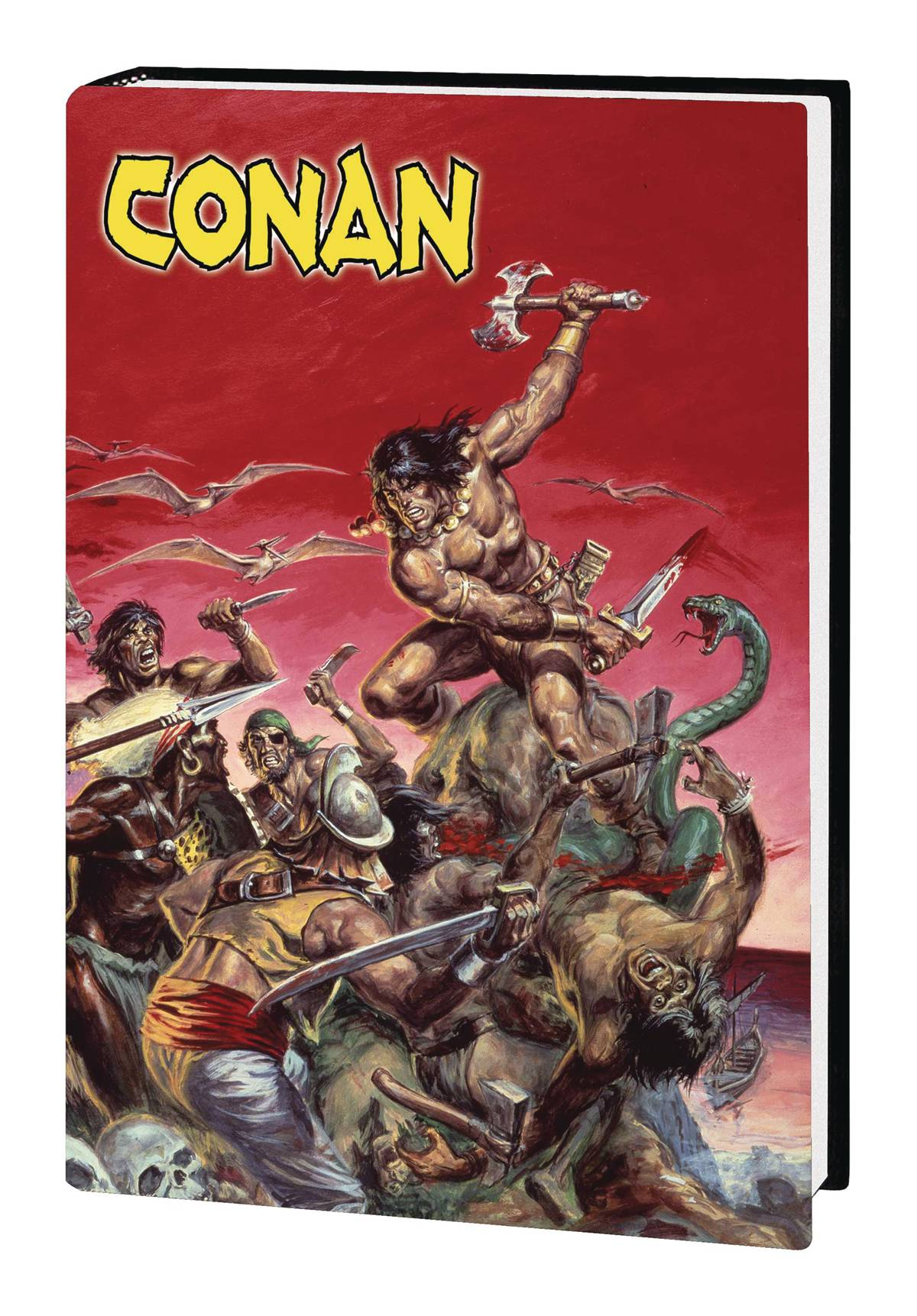 MARVEL ART OF SAVAGE SWORD OF CONAN HC (MR)