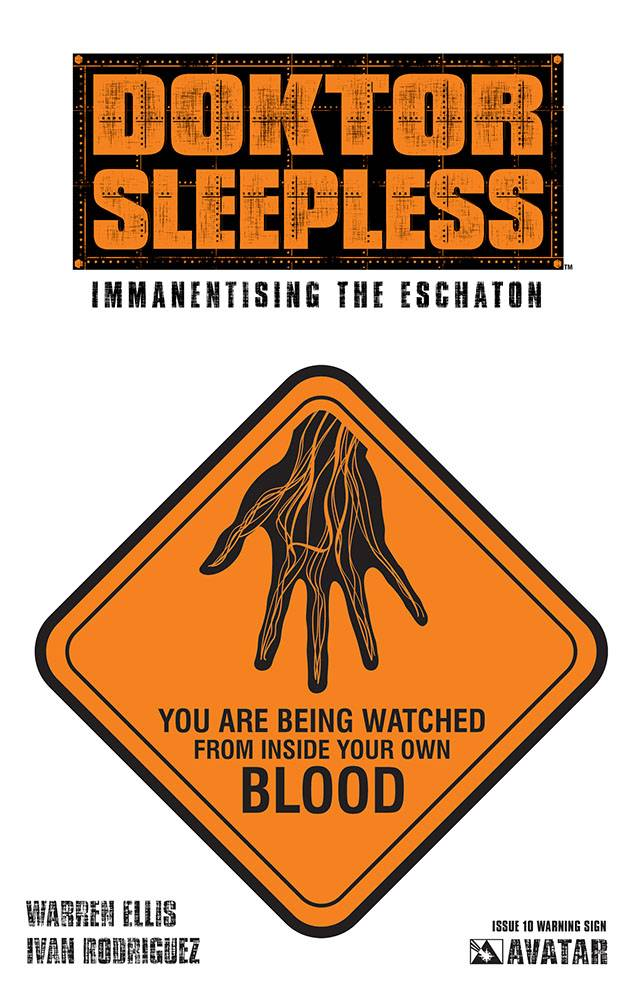 DOKTOR SLEEPLESS #10 WARNING SIGN VAR (MR)